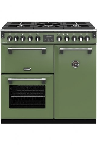 STOVES PRICHDX90DFVER PIANO CUISSON RICHMOND DELUXE 90 DFT VERT SOHO
