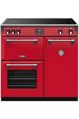 STOVES PRICHDX90EIJAL PIANO CUISSON RICHMOND DELUXE 90 EI ROUGE JALAPENO
