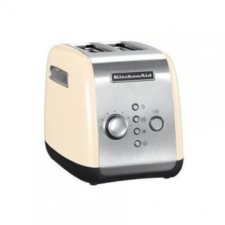 KITCHENAID 5KMT221EAC TOASTER 1100W 2 FENTES INOX/CR