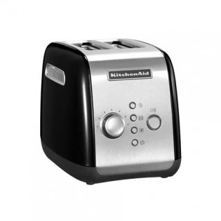 KITCHENAID 5KMT221EOB TOASTER 1100W 2 FENTES INOX/NO